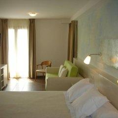 Отель Carmen Испания, Курорт Росес - отзывы, цены и фото номеров - забронировать отель Carmen онлайн комната для гостей фото 5