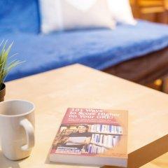 Апартаменты Blue Happy Apartment Варшава комната для гостей фото 4