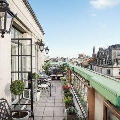 Отель The Langham, London балкон