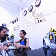 Отель Hanoi Central Homestay Ханой парковка