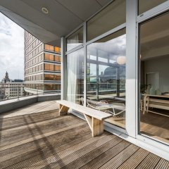 Отель Smartflats Design - Antwerp Central балкон