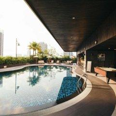 Отель Grand Mercure Bangkok Fortune бассейн фото 2