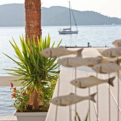 Poseidon Boutique Hotel & Yacht Club пляж фото 2