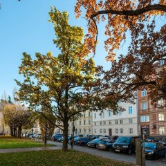 Hotel Pension am Siegestor Мюнхен парковка