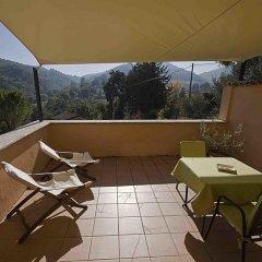 Отель Albergo Villa Cristina Сполето балкон