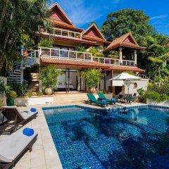 Отель Katamanda Villa 3BR with Private Pool E5 пляж Ката бассейн фото 3