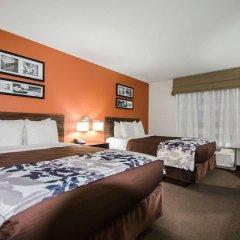 Отель Sleep Inn & Suites And Conference Center комната для гостей фото 5