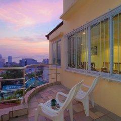 Апартаменты Argyle Apartments Pattaya Паттайя балкон