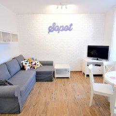 Отель Victus Apartamenty - Askja Сопот комната для гостей фото 3
