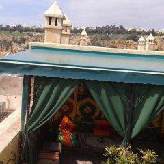 Отель Riad les Idrissides Марокко, Фес - отзывы, цены и фото номеров - забронировать отель Riad les Idrissides онлайн балкон