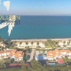 Отель Golden Residence Family Resort Греция, Ханиотис - отзывы, цены и фото номеров - забронировать отель Golden Residence Family Resort онлайн пляж