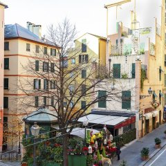 Отель La Casa di Dante by Wonderful Italy Италия, Генуя - отзывы, цены и фото номеров - забронировать отель La Casa di Dante by Wonderful Italy онлайн балкон