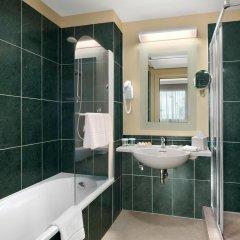 Отель Hilton Garden Inn Rome Airport Италия, Фьюмичино - 2 отзыва об отеле, цены и фото номеров - забронировать отель Hilton Garden Inn Rome Airport онлайн ванная