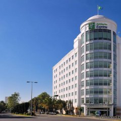Отель Holiday Inn Express Puebla вид на фасад фото 2