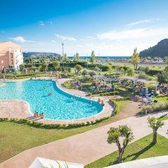Отель Borgo di Fiuzzi Resort & Spa балкон