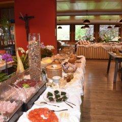 Отель Angerburg Blumenhotel Аппиано-сулла-Страда-дель-Вино питание
