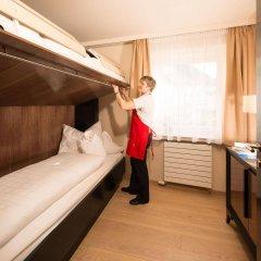 Hotel Goldene Rose Силандро сейф в номере