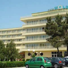Отель WELA Солнечный берег парковка