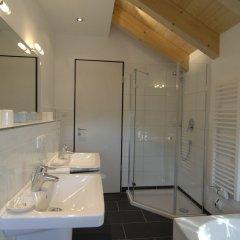 Отель Landhaus Sixtmühle Германия, Тауфкирхен - отзывы, цены и фото номеров - забронировать отель Landhaus Sixtmühle онлайн ванная