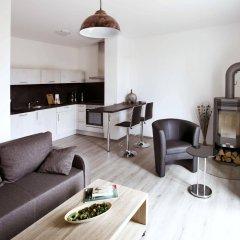 Отель Leipzig Apartmenthaus комната для гостей фото 4