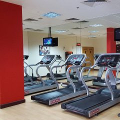 Отель Holiday Inn Abu Dhabi Downtown фитнесс-зал фото 4