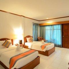 Отель First Bungalow Beach Resort Таиланд, Самуи - 6 отзывов об отеле, цены и фото номеров - забронировать отель First Bungalow Beach Resort онлайн комната для гостей фото 2