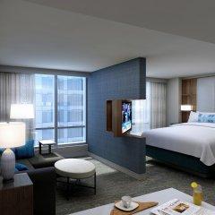 Отель Residence Inn by Marriott Washington Downtown/Convention Center США, Вашингтон - отзывы, цены и фото номеров - забронировать отель Residence Inn by Marriott Washington Downtown/Convention Center онлайн комната для гостей фото 4