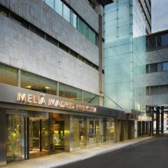 Отель Melia Madrid Princesa парковка