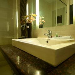 Отель The Prime Balaji Deluxe @ New Delhi Railway Station ванная