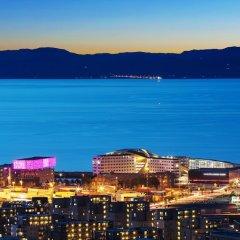 Отель Clarion Hotel & Congress Trondheim Норвегия, Тронхейм - отзывы, цены и фото номеров - забронировать отель Clarion Hotel & Congress Trondheim онлайн пляж фото 2