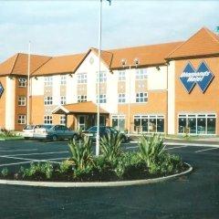 Diamond Lodge Hotel Manchester Манчестер парковка