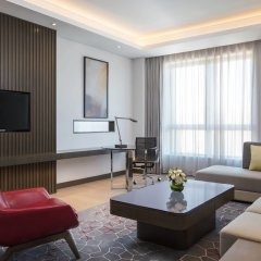 Отель Courtyard by Marriott Tianjin Hongqiao Китай, Тяньцзинь - отзывы, цены и фото номеров - забронировать отель Courtyard by Marriott Tianjin Hongqiao онлайн комната для гостей фото 3