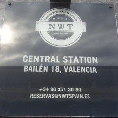 Отель Central Station Valencia Валенсия городской автобус