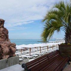 Гостиница Приморская пляж