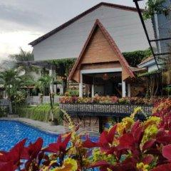 Bukit Daun Hotel and Resort бассейн фото 3