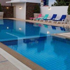 Отель Pattaya Blue Sky бассейн фото 2