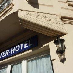 Отель Le Lausanne сейф в номере