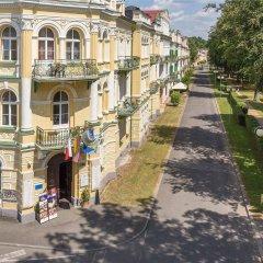 Отель Metropol Чехия, Франтишкови-Лазне - отзывы, цены и фото номеров - забронировать отель Metropol онлайн спортивное сооружение