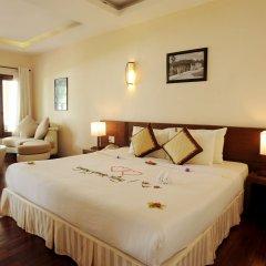 Отель Vinh Hung Riverside Resort & Spa Вьетнам, Хойан - отзывы, цены и фото номеров - забронировать отель Vinh Hung Riverside Resort & Spa онлайн комната для гостей фото 5