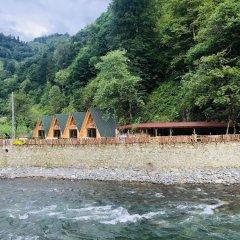Tanura Bungalows Турция, Чамлыхемшин - отзывы, цены и фото номеров - забронировать отель Tanura Bungalows онлайн пляж фото 2