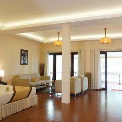 Отель Vinh Hung Riverside Resort & Spa комната для гостей фото 3