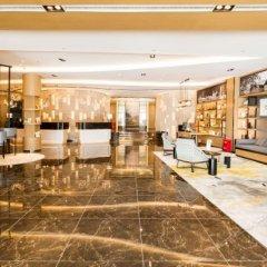 Отель Atour Hotel Tianjin Jinwan Square Китай, Тяньцзинь - отзывы, цены и фото номеров - забронировать отель Atour Hotel Tianjin Jinwan Square онлайн гостиничный бар