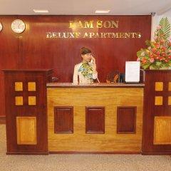 Отель Lam Son Deluxe Apartments Вьетнам, Вунгтау - отзывы, цены и фото номеров - забронировать отель Lam Son Deluxe Apartments онлайн интерьер отеля
