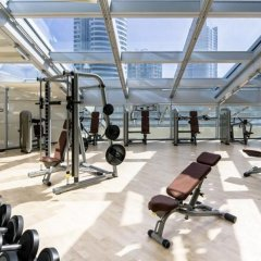 Отель Novotel Fujairah фитнесс-зал фото 2