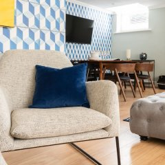 Отель The Kensington Palace Mews - Bright & Modern 6bdr House With Garage Лондон интерьер отеля