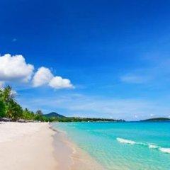 Отель tropical heaven's garden samui пляж
