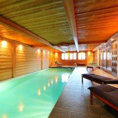 Отель Les Cèdres Нендаз бассейн фото 2