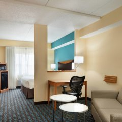 Отель Fairfield Inn And Suites By Marriott Mall Of America Блумингтон комната для гостей фото 3