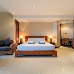 Апартаменты Aspasia Kata Luxury Resort Apartment пляж Ката Яй комната для гостей фото 5