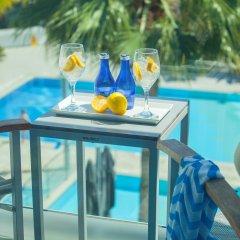 Отель Limanaki Beach Hotel Кипр, Айя-Напа - 1 отзыв об отеле, цены и фото номеров - забронировать отель Limanaki Beach Hotel онлайн бассейн фото 3